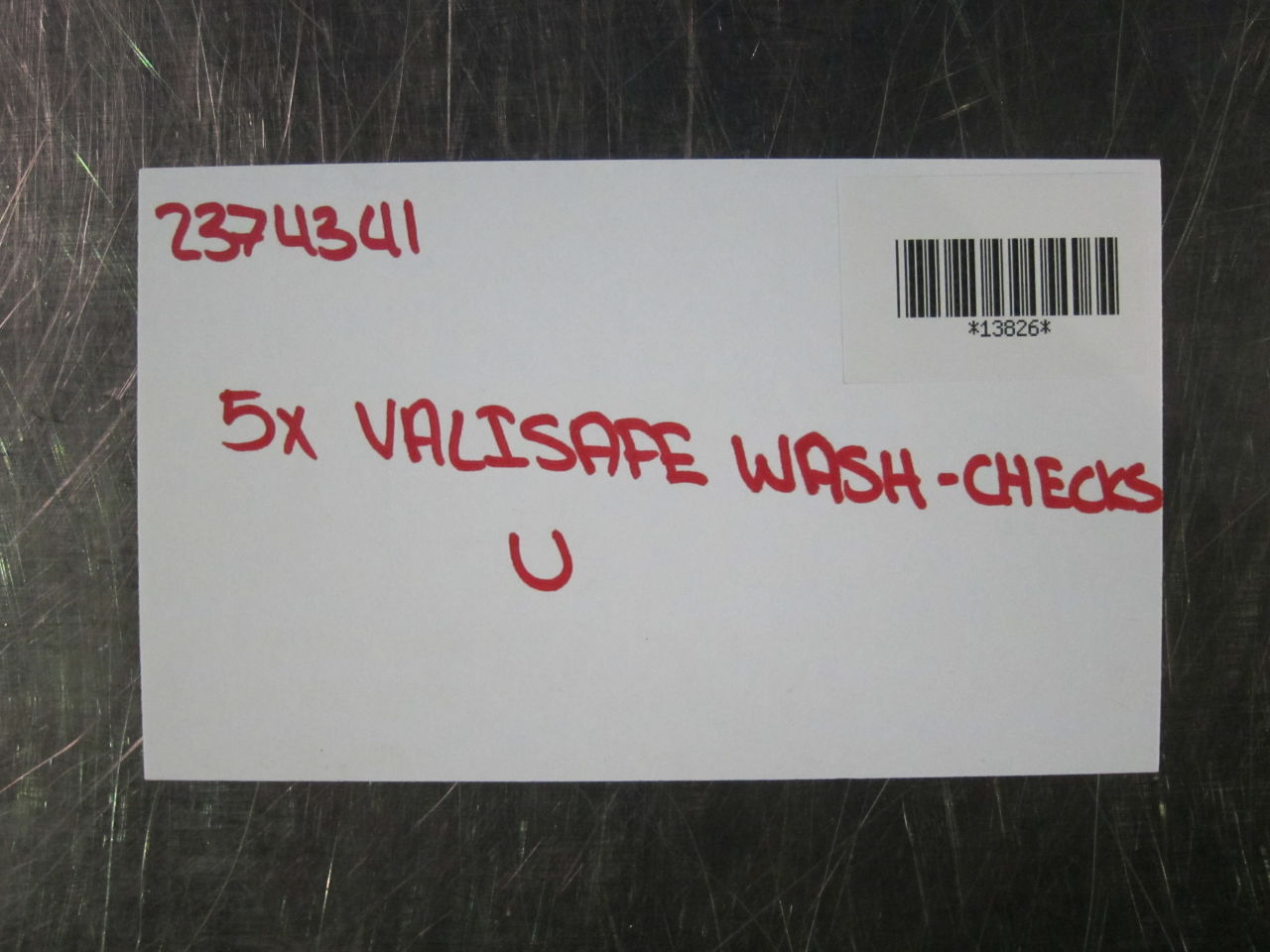VALISAFE Wash-Checks U