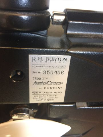 BURTON 750I Auto Cross Illuminated Phoroptors / Refractors
