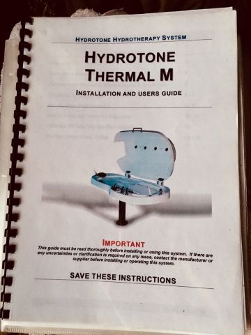 HYDROTONE Thermal M Hydrotherapy Body Capsule