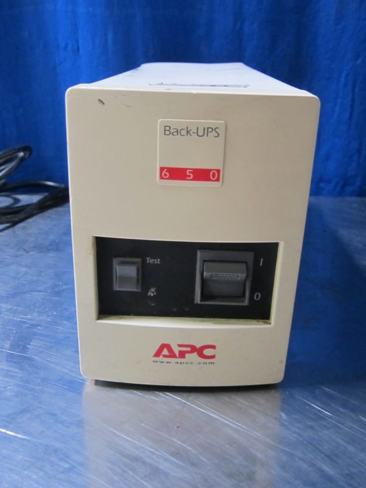 APC Back UPS 650 Uninterruptible Power Supply / UPS