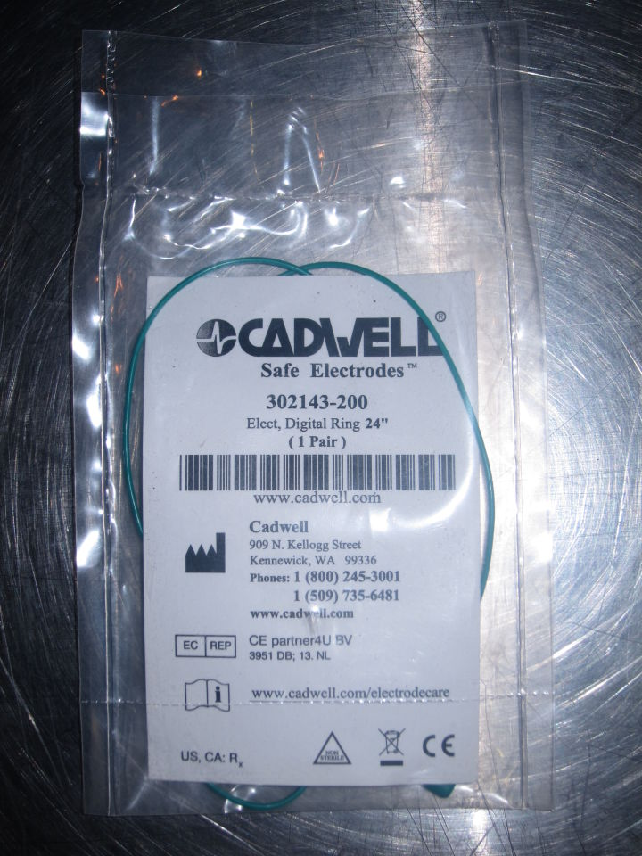 CADWELL  Safe Electrodes - Lot of 4