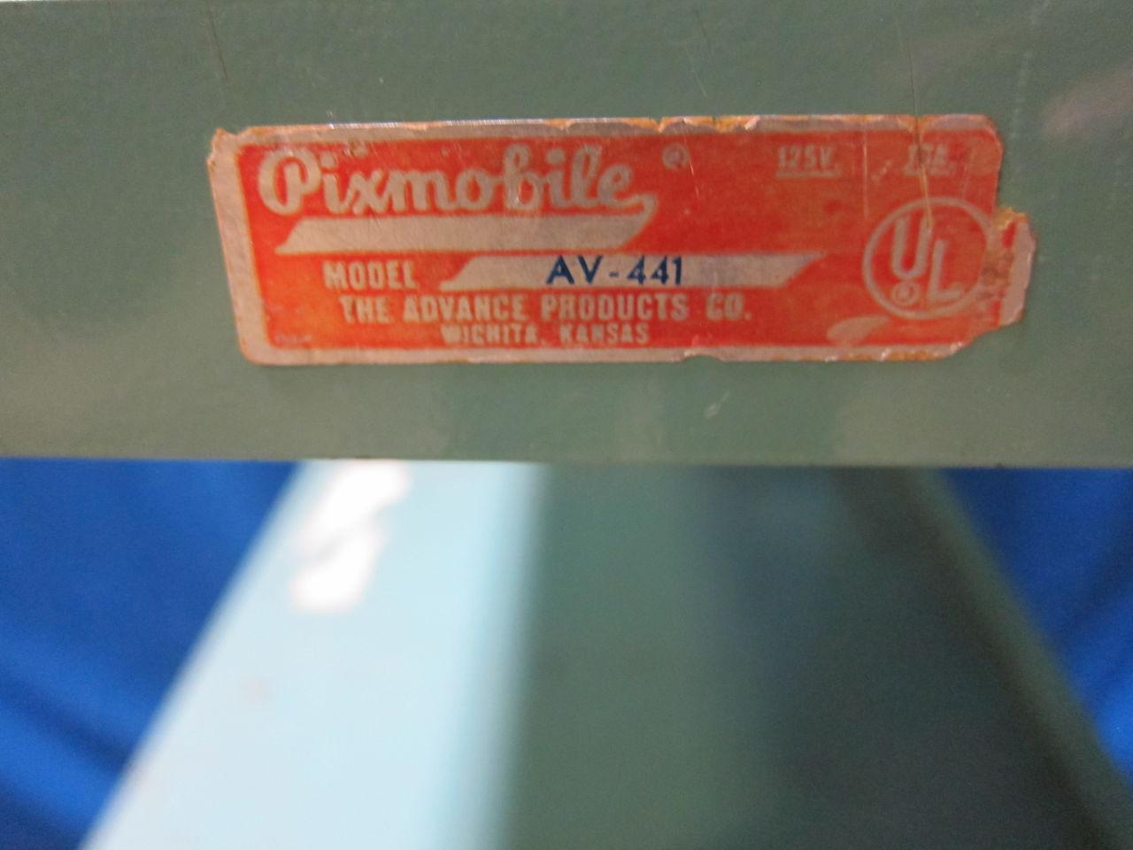PIXMOBILE Av-441 Pharmacy/Med Cart