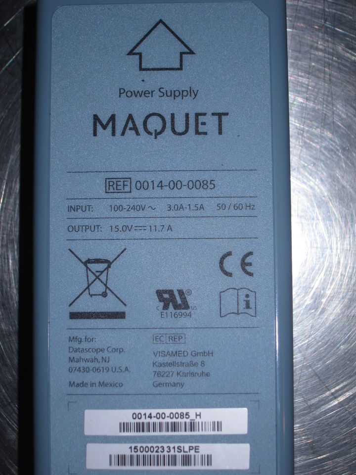 DATASCOPE Maquet Power Supply