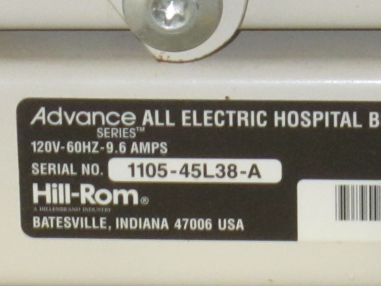 HILL-ROM Advance Series Beds Electric