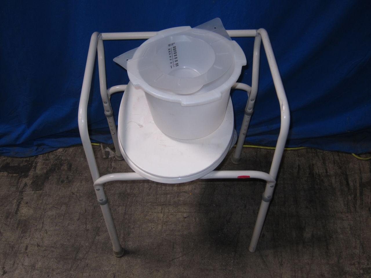 RUBBERMAID  Adult Toilet Chair