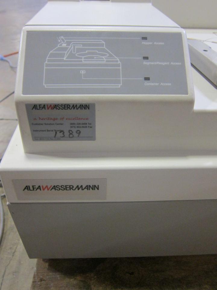 SCHIAPPARELLI BIOSYSTEMS ACE w/ Keyboard and Maintenance Kit Centrifuge
