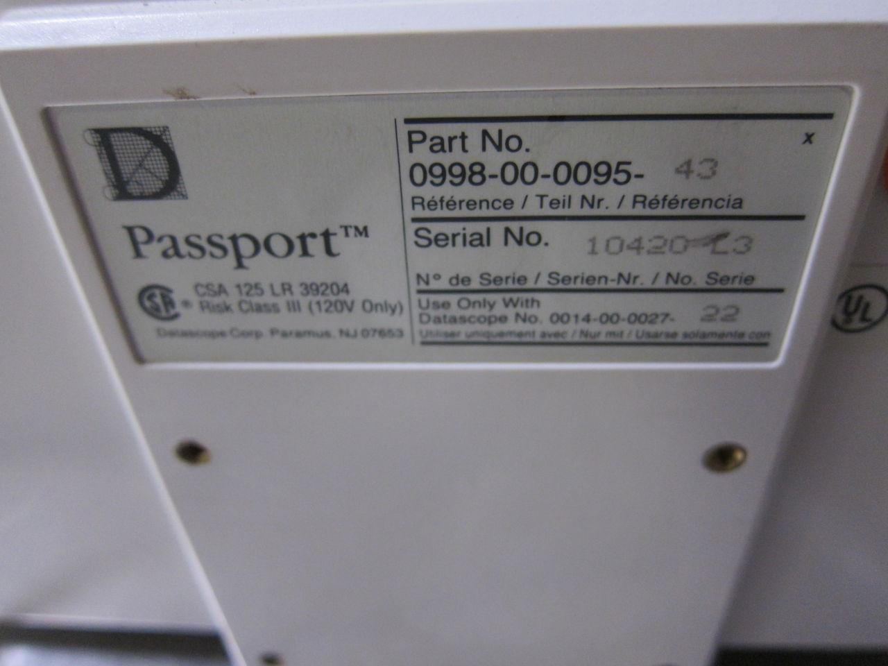 DATASCOPE Passport EL Monitor