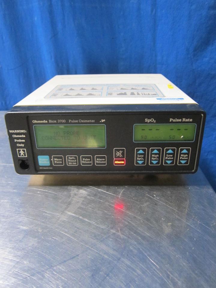 OHMEDA Biox 3700 Oximeter - Pulse