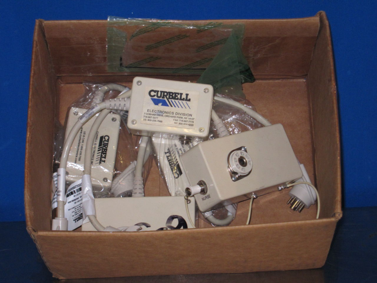 CURBELL   - Lot of 5 Telemetry