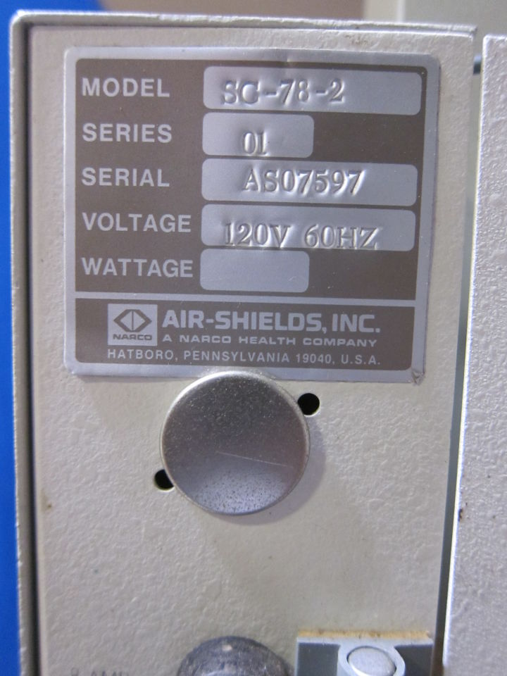 AIR-SHIELDS Various w/ Servo Controller Infant Warmer