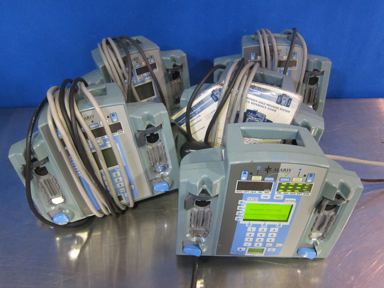 ALARIS 7230B  - Lot of 5 Pump IV Infusion