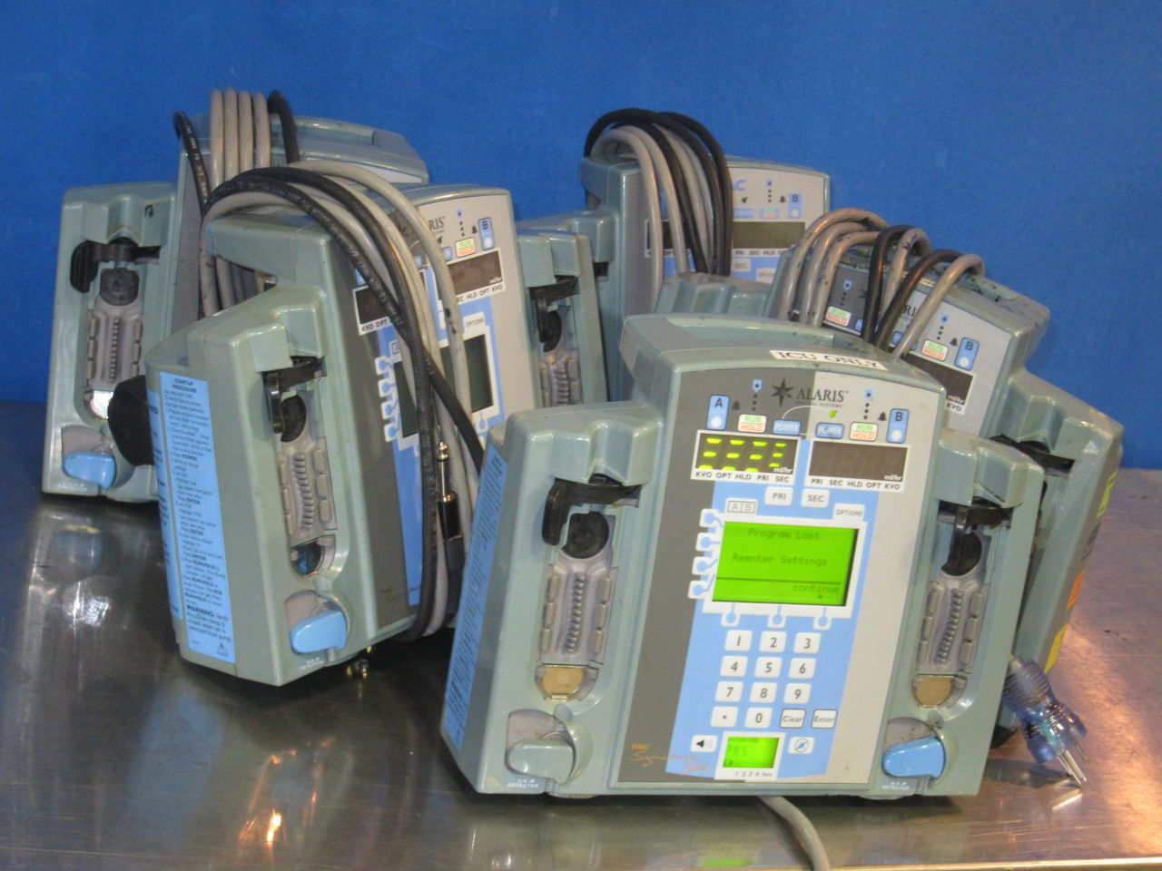 ALARIS 7230D  - Lot of 5 Pump IV Infusion