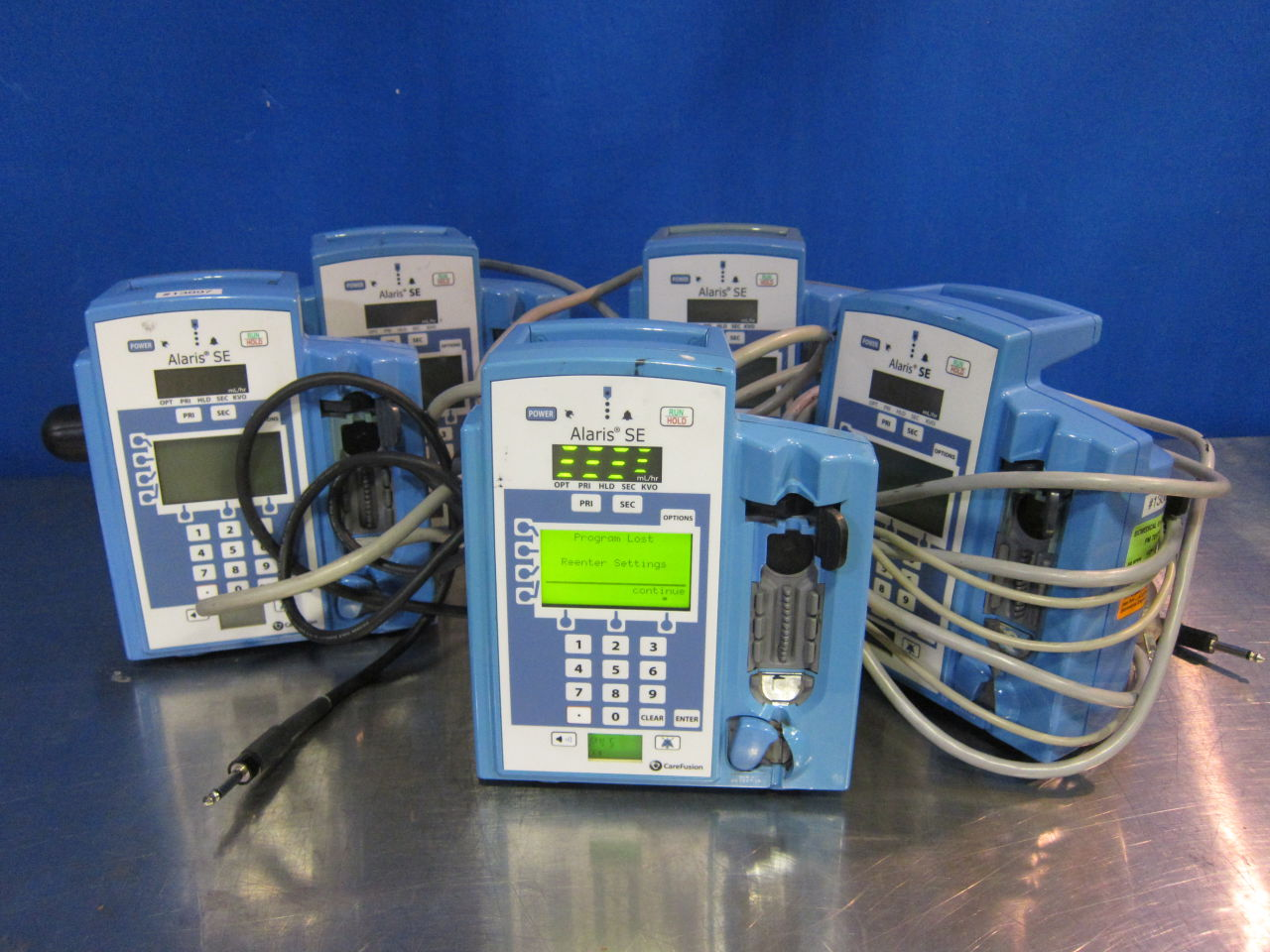 ALARIS MEDICAL SYSTEMS 7130  - Lot of 5 Pump IV Infusion