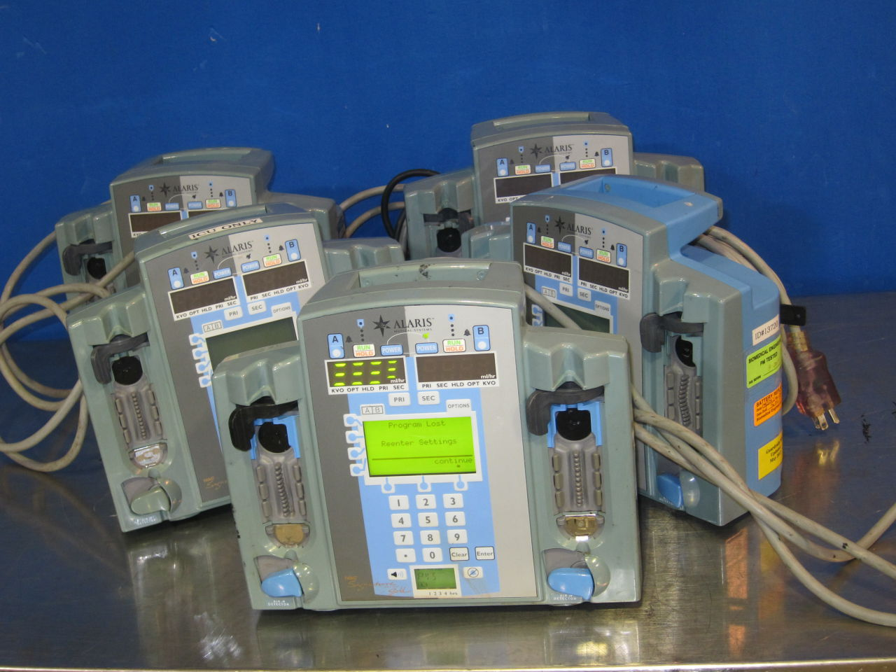 ALARIS 7130E  - Lot of 5 Pump IV Infusion