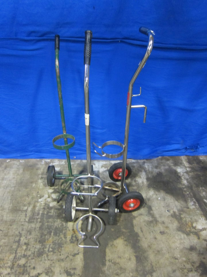 - Lot of 3 Oxygen Tank Holder