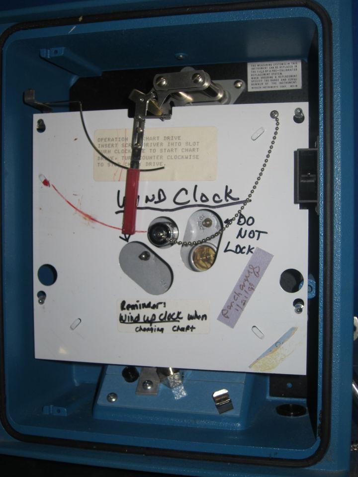 WESKLER INSTRUMENTS 8GR1-WB-1B Temp Chart Recorder