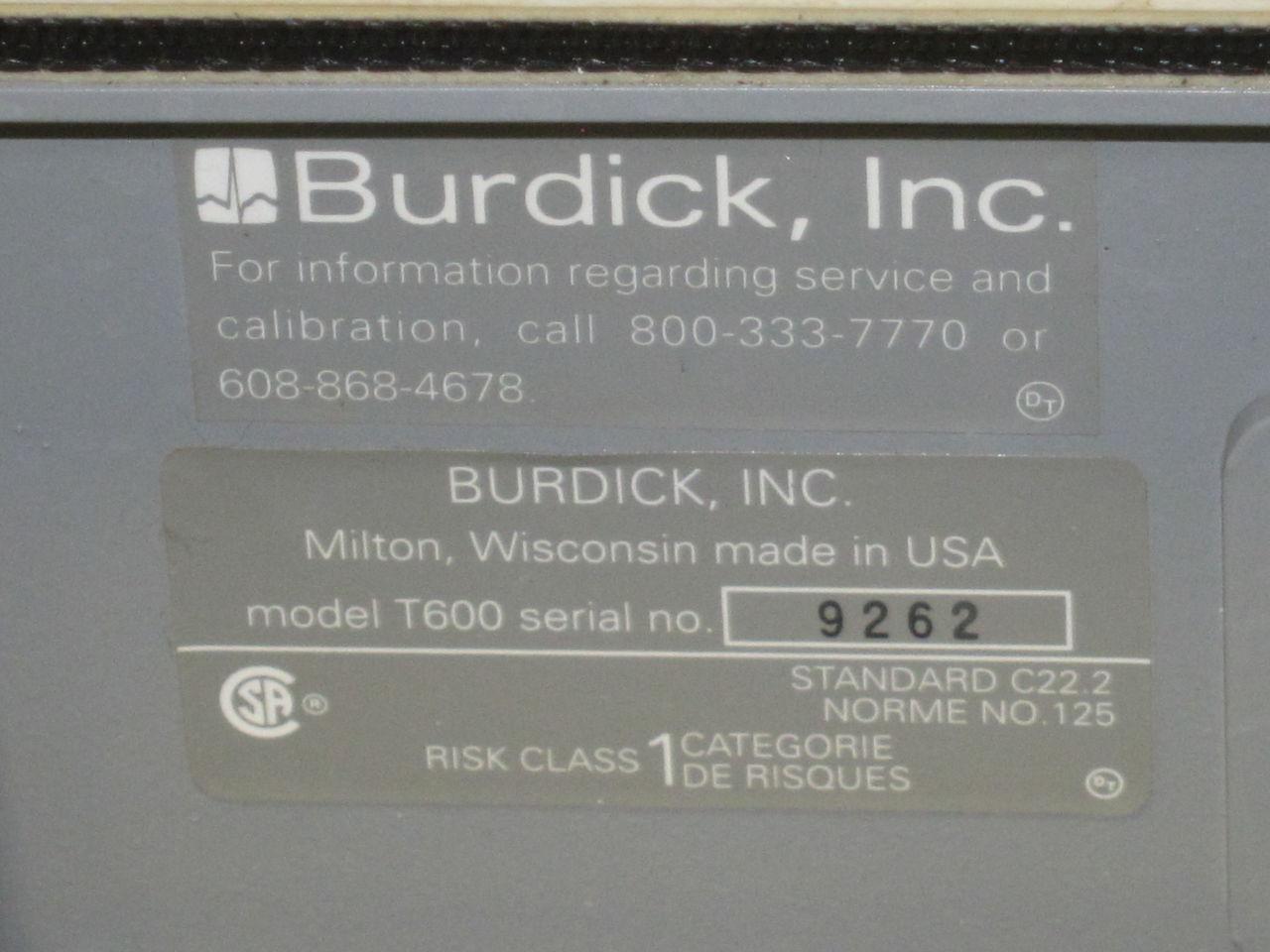 BURDICK T600 Treadmill