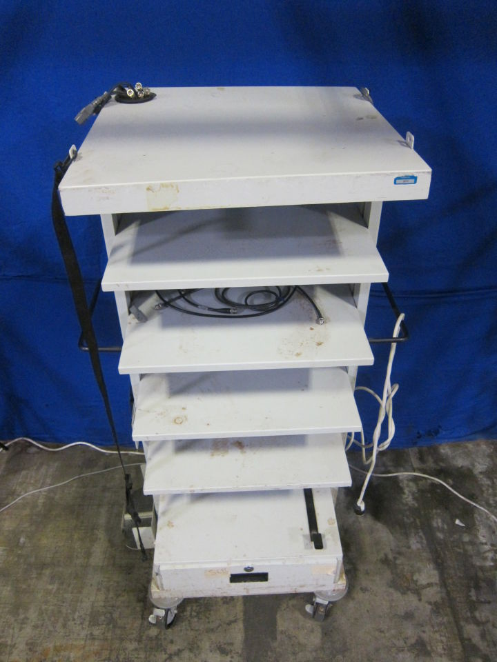 KARL STORZ  Empty Cart w/ Cables and Power Strip