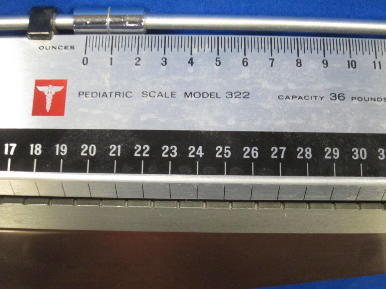 HEALTH O METER Model 322 Scale