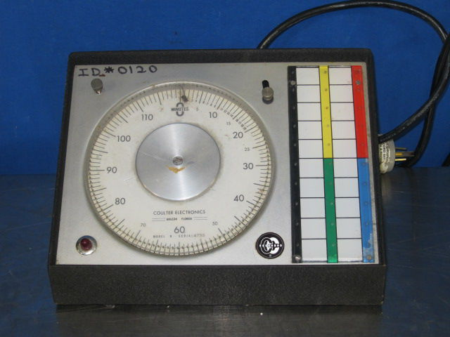 COULTER ELECTRONICS Model N Multi-Timer