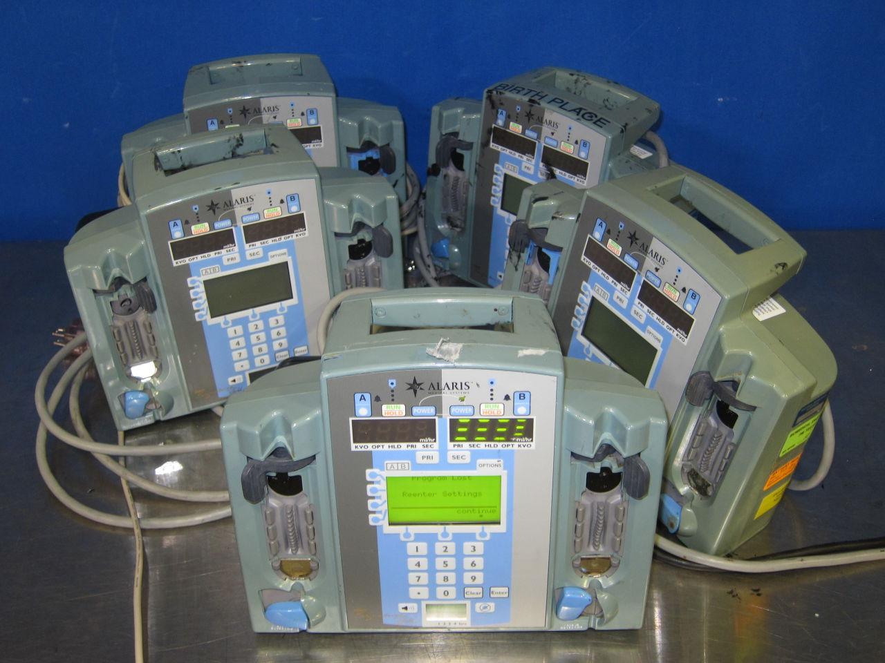ALARIS 7230  - Lot of 5 Pump IV Infusion