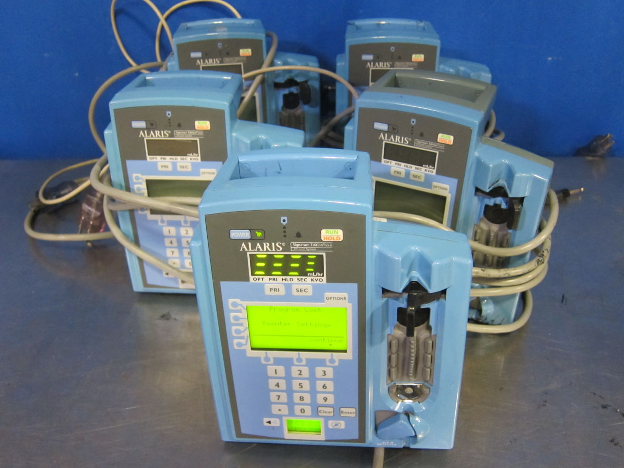 ALARIS 7130  - Lot of 5 Pump IV Infusion