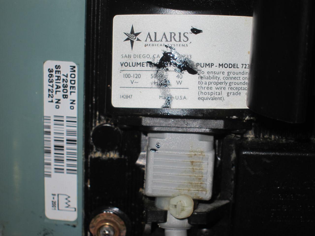 ALARIS 7230 Pump IV Infusion