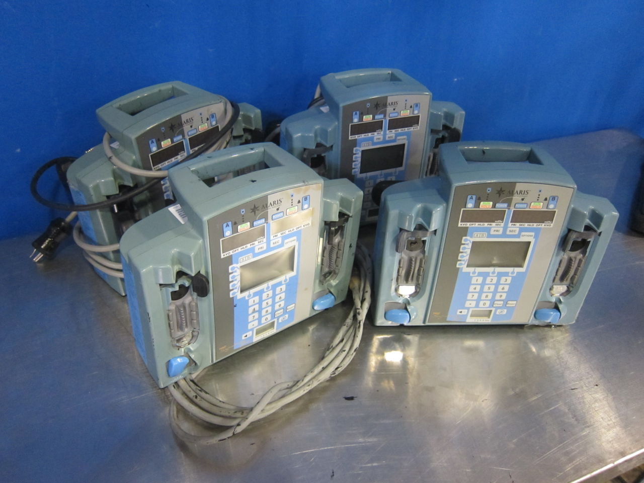 ALARIS 7230  - Lot of 4 Pump IV Infusion