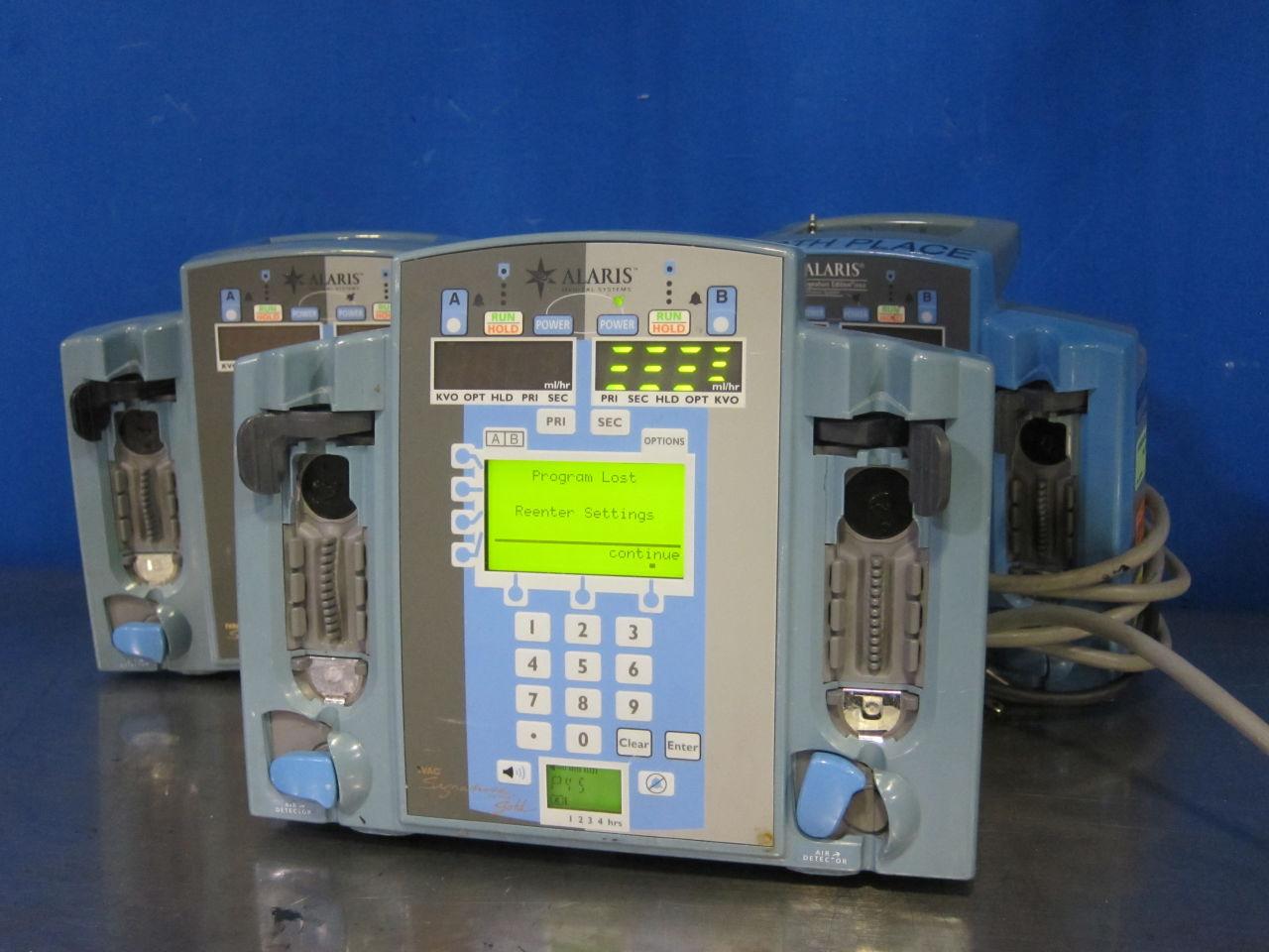 ALARIS 7230  - Lot of 3 Pump IV Infusion
