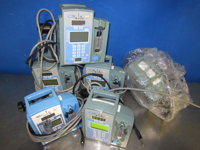 ALARIS MEDICAL SYSTEMS 7130  - Lot of 6 Pump IV Infusion