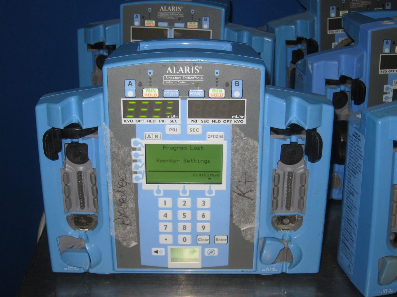 ALARIS 7230  - Lot of 12 Pump IV Infusion