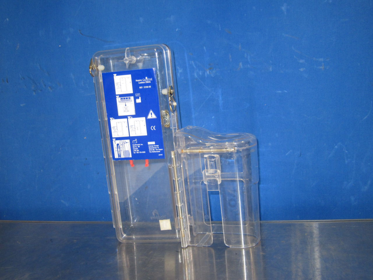 HOSPIRA Gemstar Lockbox Pump IV Infusion