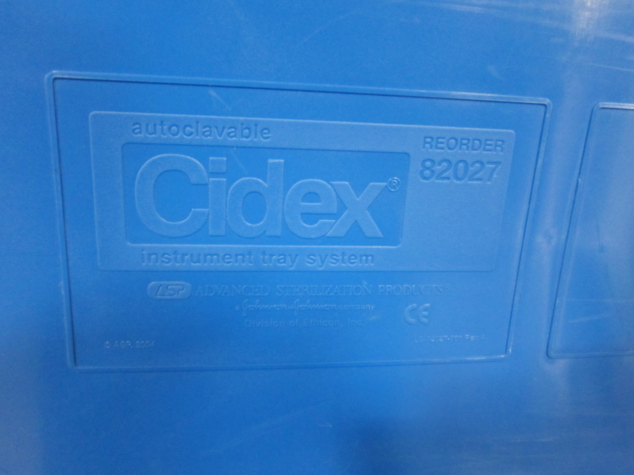 CIDEX 82027  - Lot of 2 Surgical Cases