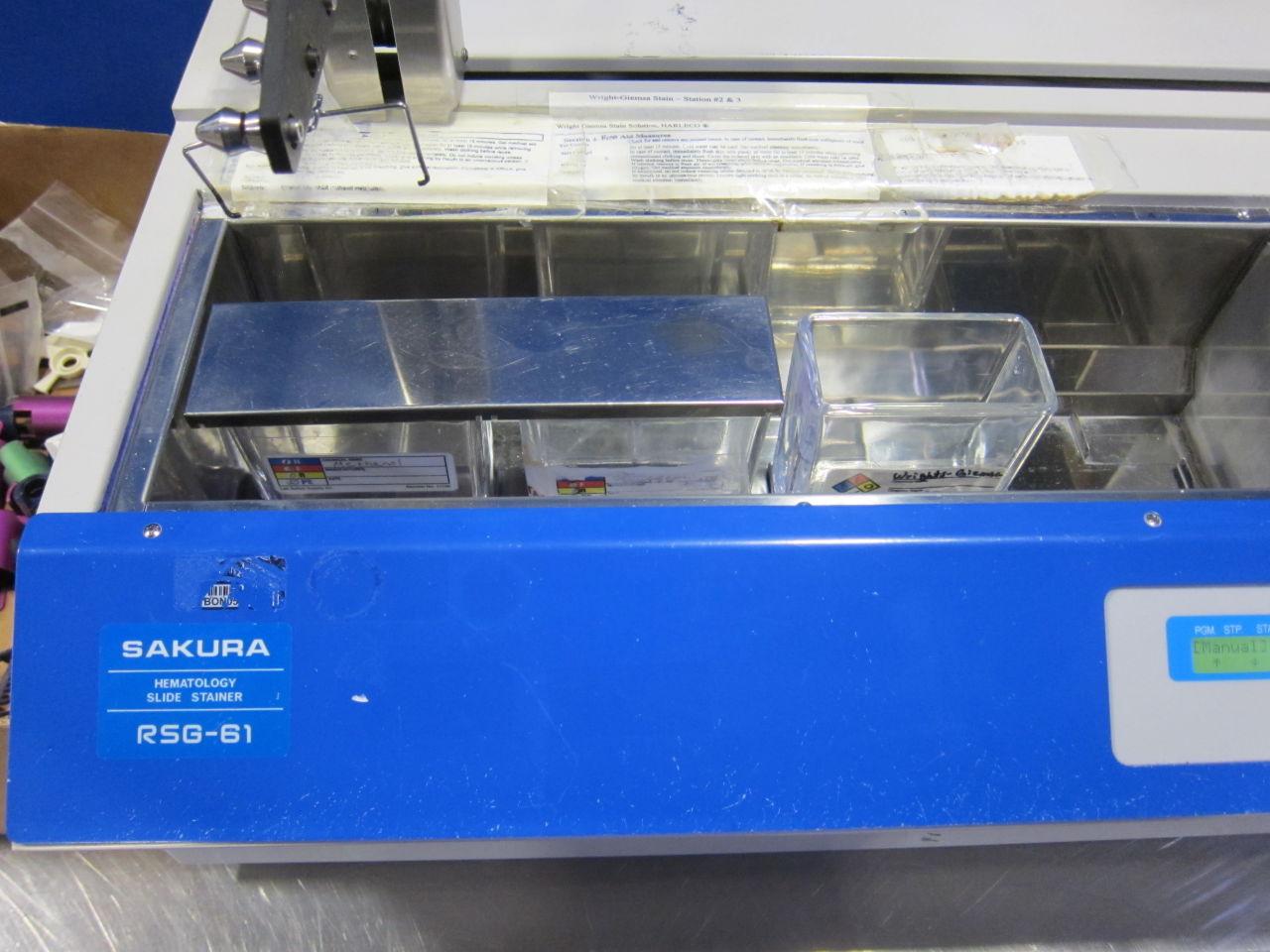 SAKURA 125G-61 Slide Stainer