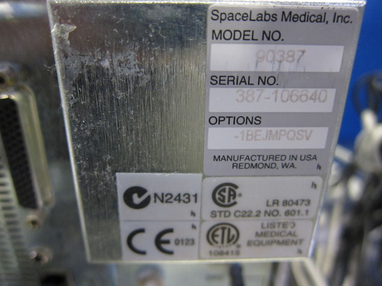 SPACELABS Ultraview SL  - Lot of 4 Monitor