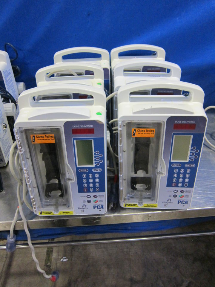 HOSPIRA Lifecare PCA  - Lot of 6 Pump IV Infusion