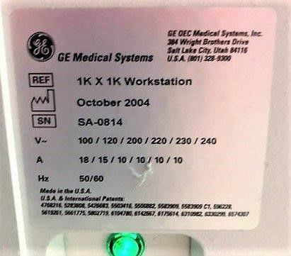 OEC 8800 9 Vascular C-Arm