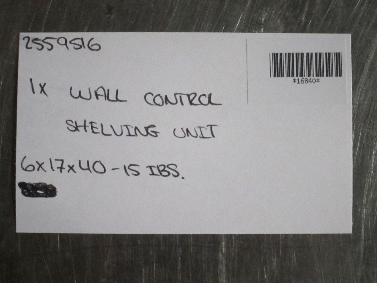 Wall Control