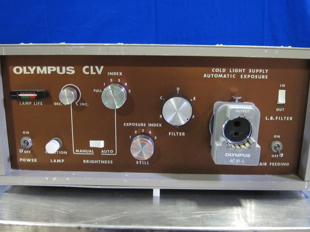 OLYMPUS CLV Light Source