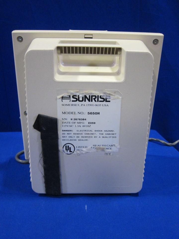 SUNRISE Plumo Aide 5650H Nebulizer