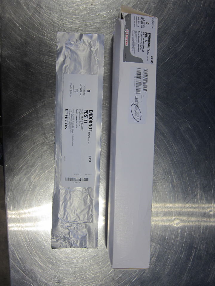 ETHICON Endoknot PDS II  - Lot of 21 Sutures