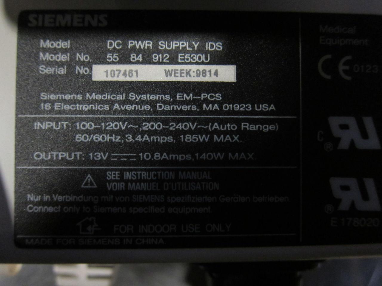 SIEMENS DC Pwr Supply IDS Power Supply