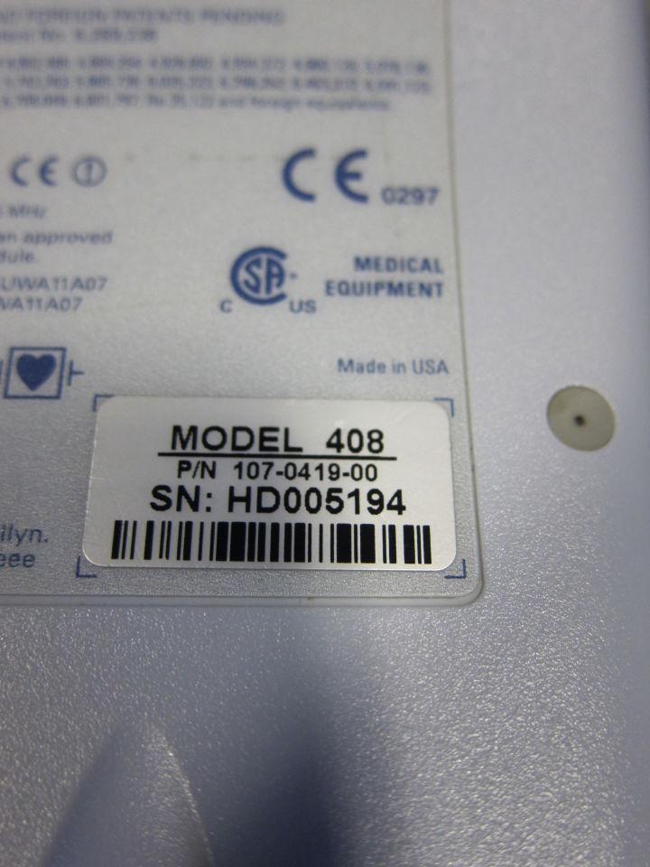 WELCH ALLYN Micropaq 408  - Lot of 8 Telemetry