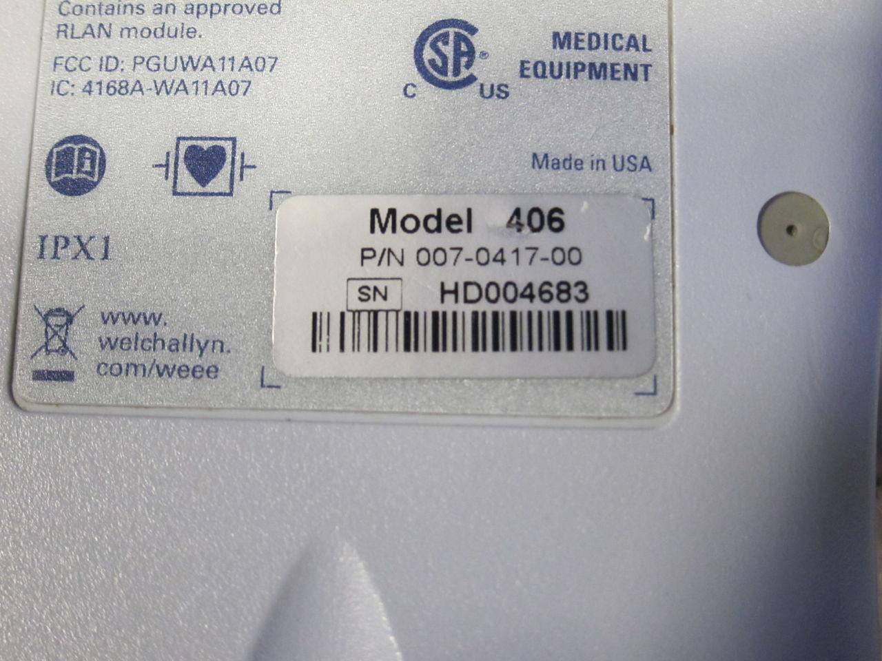 WELCH ALLYN Micropaq 406  - Lot of 8 Telemetry