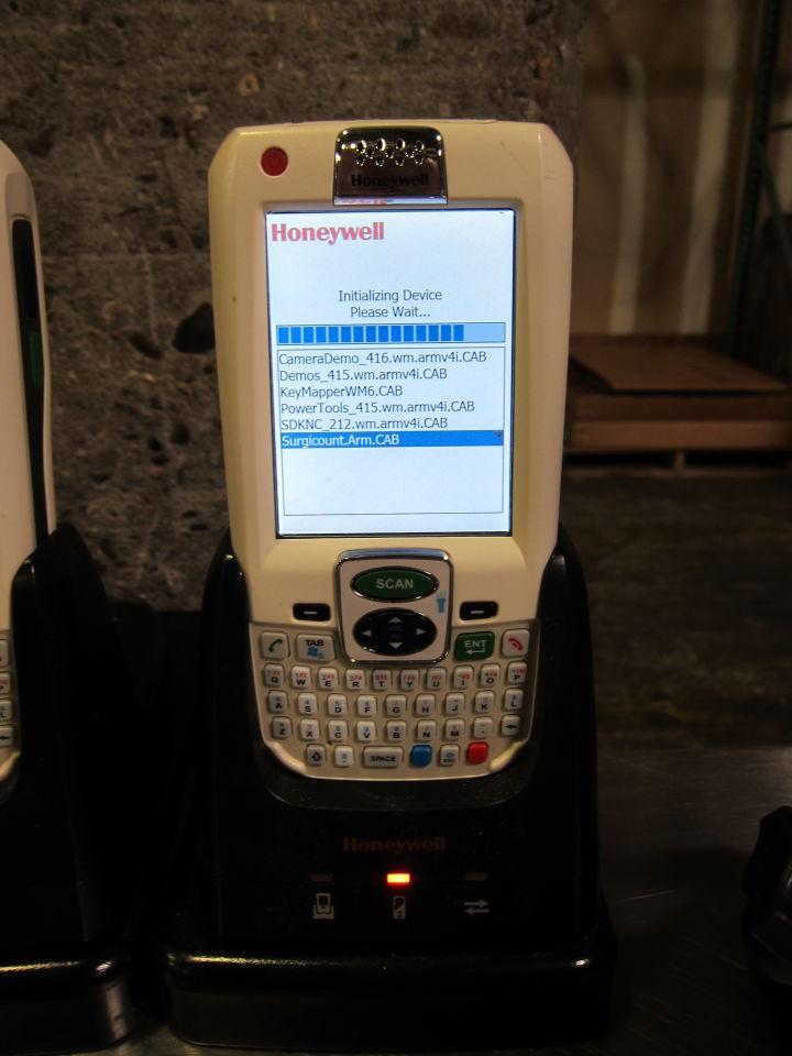 HONEYWELL Dolphin 9700 Handheld Computers - Lot of 5