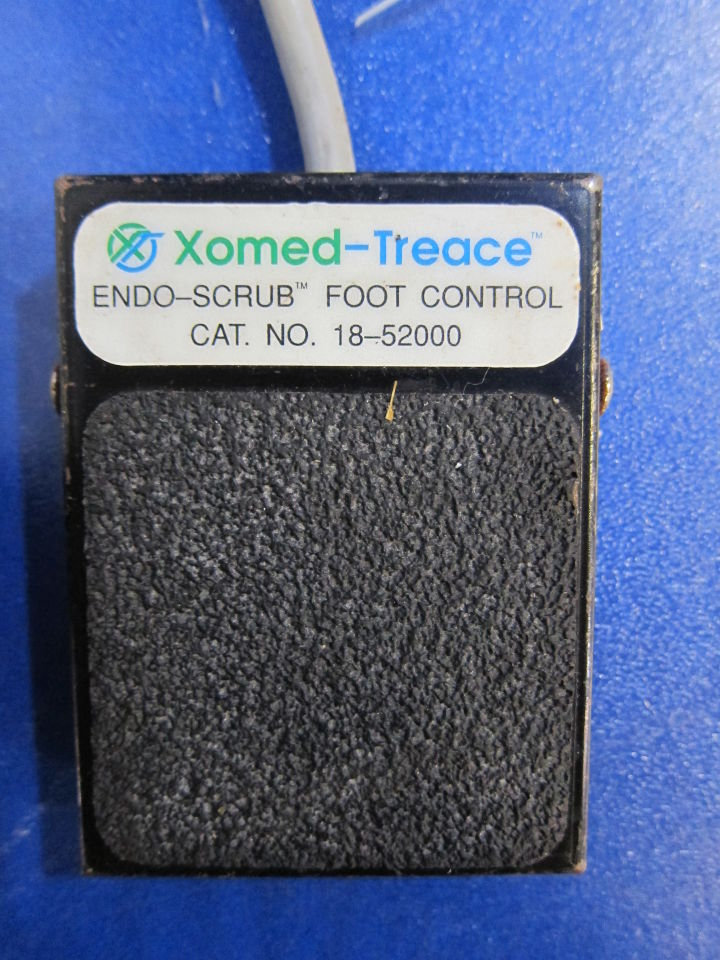 XOMED TREACE CAT# 18-51000 Endo Scrub w/ Foot Pedal
