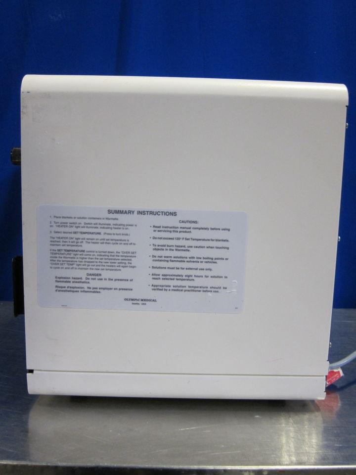 OLYMPIC MEDICAL Warmette Blanket / Solution Warmer