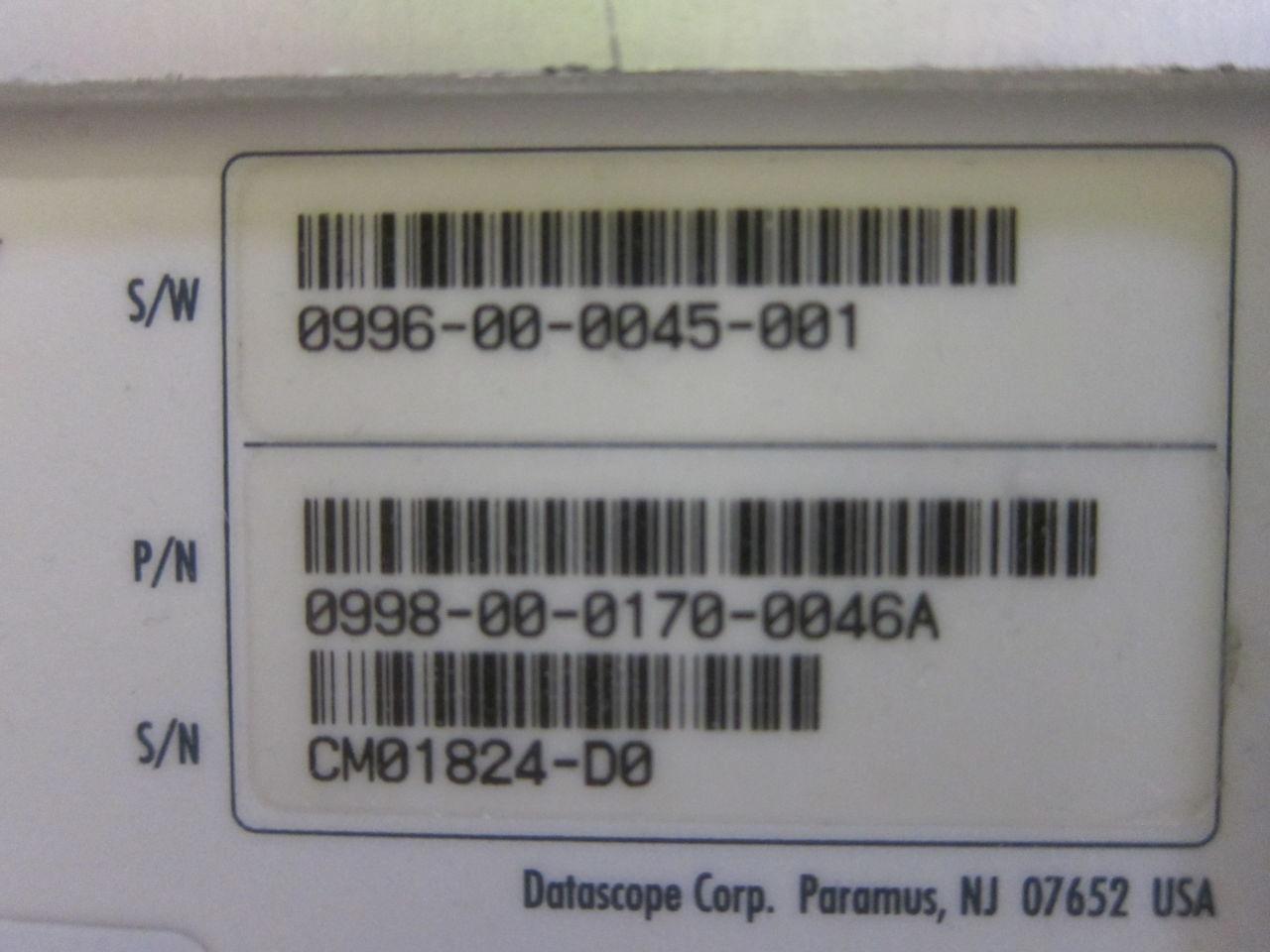 DATASCOPE Passport 2  - Lot of 2 Monitor
