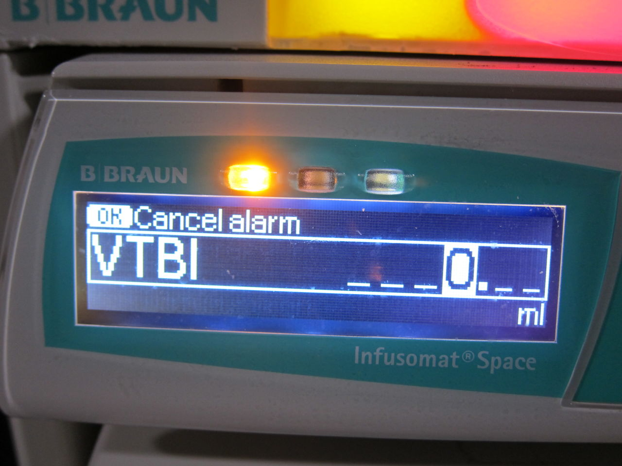 BRAUN Space Station Pump Rack Pump IV Infusion