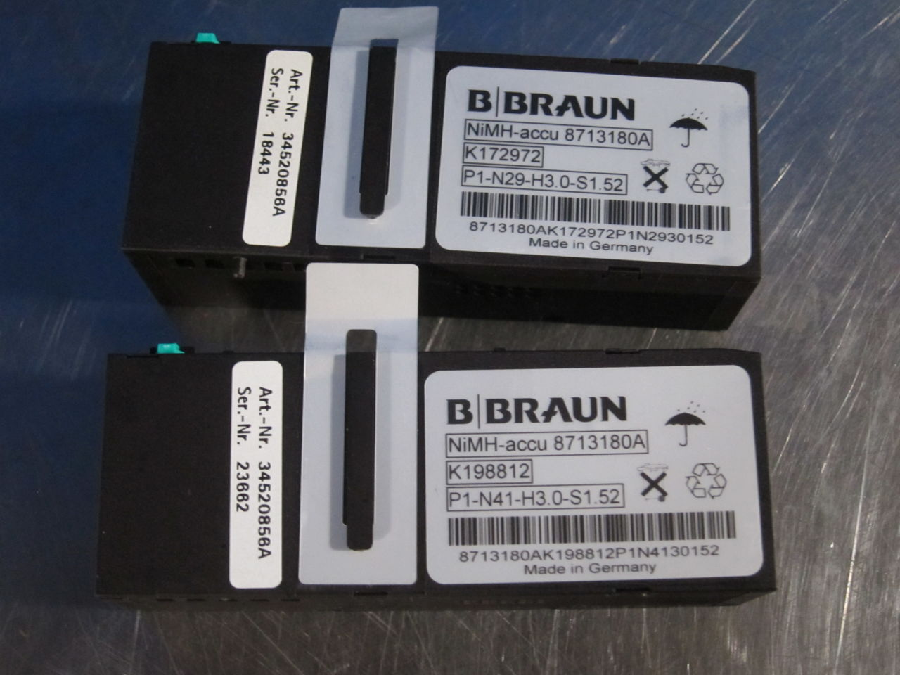 BRAUN Various  - Lot of 5 Pump IV Infusion
